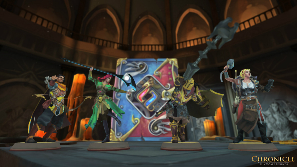 Chronicle: Runescape Legends is nothing like Hearthstone, and it's all the better for it