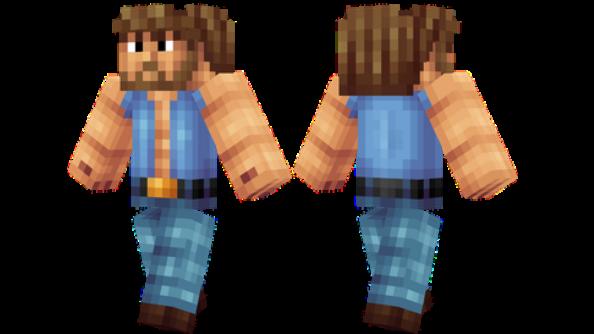 best minecraft skins Chuck Norris