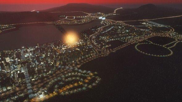 Cities Skylines meteor strike