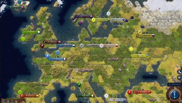 The best Civ 6 mods | PCGamesN Civ Earth Map on hd earth map, game earth map, total war earth map,