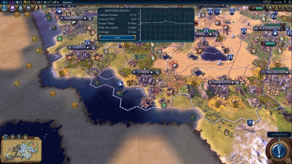 AMD Ryzen 7 1800X Civ VI performance