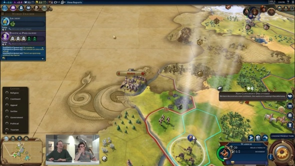 Civ 6 features proper multiplayer mod support, plus hotseat mode