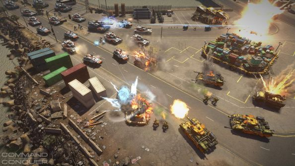 Command and Conquer Hands On: League of Generals