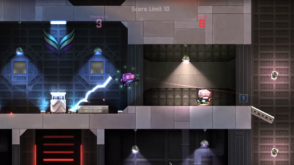 Cobalt, a new side-scrolling shooter from Mojang, coming this October