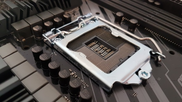 Intel Coffee Lake LGA 1151 socket