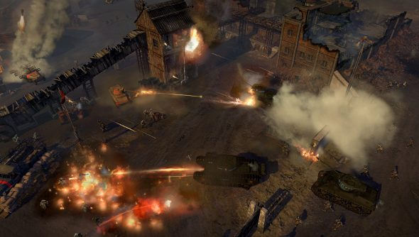 Company of Heroes 2: The British Forces interview