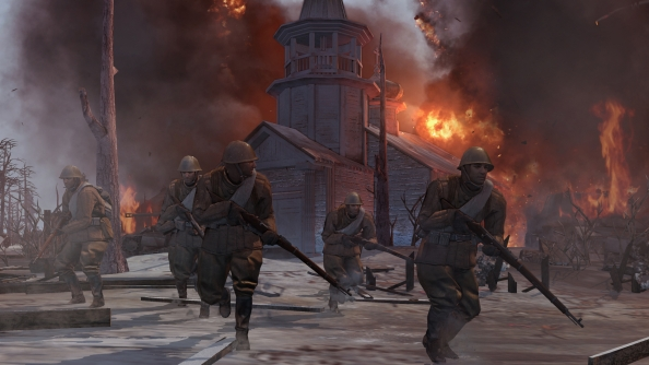 Back to the Front: the first Company of Heroes 2 trailer
