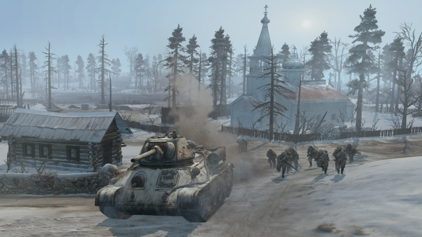 Latest Company of Heroes 2 dev diary demonstrates new ambush