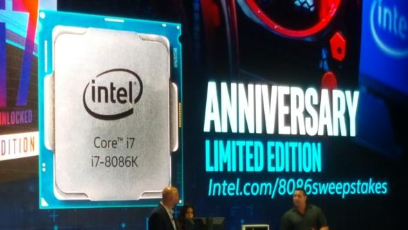 Intel Core i7 8086 announcement