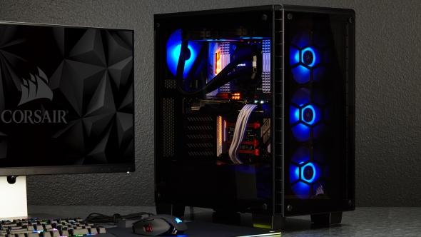 Corsair Crystal 460RX RGB specs