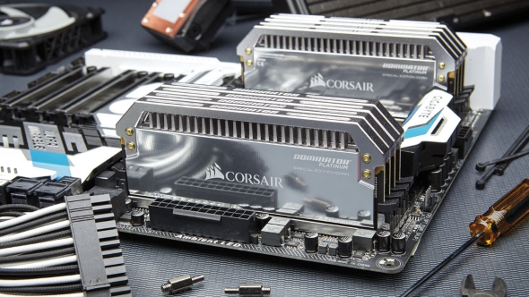 Corsair unveil their super-shiny, extremely rare, ultra-enthusiast special edition memory