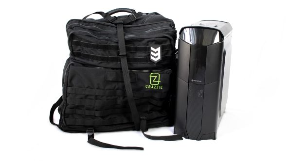 Crazzie PC Tower Backpack