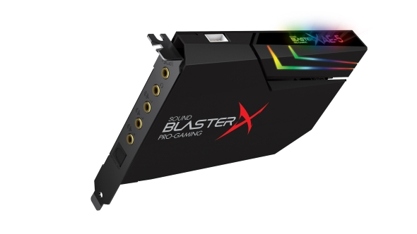 Creative Sound Blaster AE-5 top
