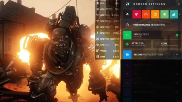 AMD Crimson ReLive OSD