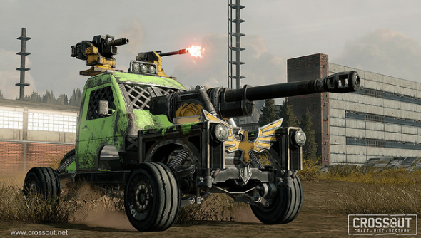 E3 preview: Crossout is a Mad Max inspired car MMO from the