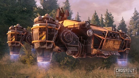 Crossout Hover Cars Dawn Children