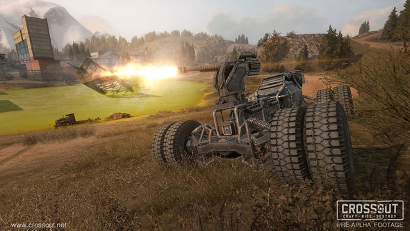 Crossout Weapons
