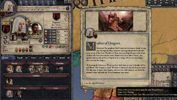 Brace yourself, the Crusader Kings 2 Game of Thrones Essos update is coming