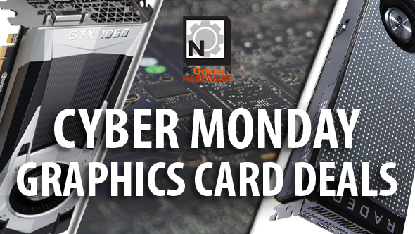 Cyber Monday graphics card deals - Sapphire RX 470 for £175 and GTX 1060 Mini for £190