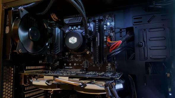 Cyberpower Intel Coffee Lake PC CPU and GPU
