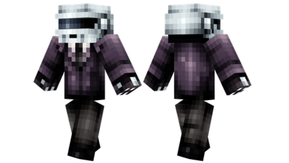 best minecraft skins Thomas Bangalter