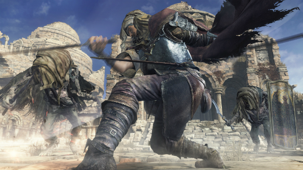 Watch Dark Souls 3 run on PC at 60fps, as someone beats the first boss with their fists