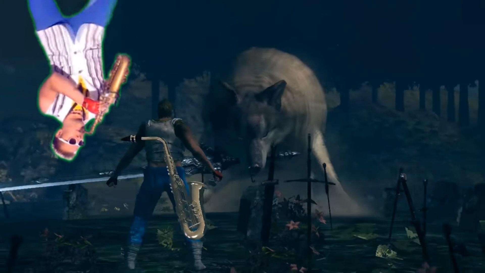 Epic Sax Guy Dark Souls