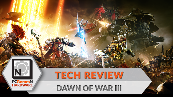 Dawn of War 3 PC graphics, performance and 4K analysis - the PCGamesN tech review