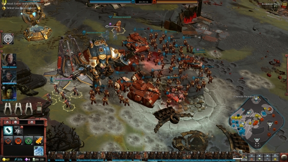 Dawn of War 3 Space Marines army