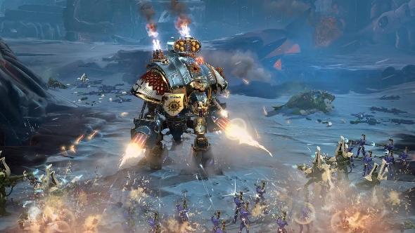 Dawn of War III Imperial Knight