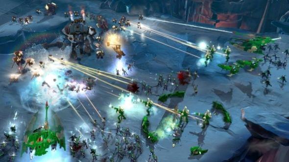 Dawn of War III Eldar v Space Marine