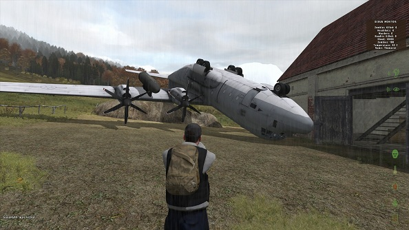 DayZ hackers spawn chaos, upside-down aeroplanes, get banned forever.