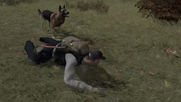 DayZ designer demonstrates dogs
