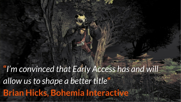 DayZ Early Access quote