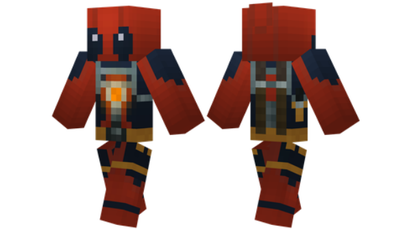 best minecraft skins Deadpool