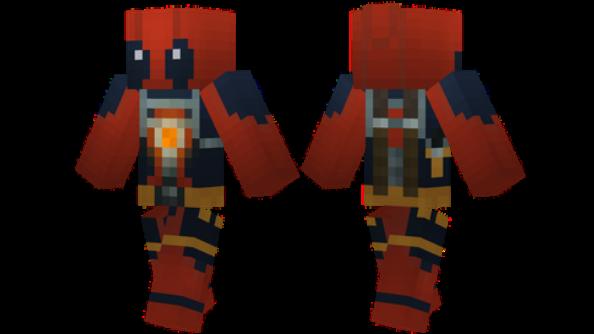 Deadpool Minecraft Skin