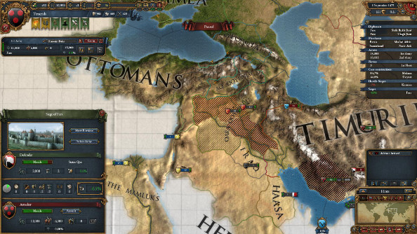 Best pc games of 2013 europa universalis iv pcgamesn a map showing ottoman occupied iraq and mamluk armies moving through the holy land gumiabroncs Images