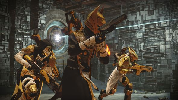 Guardians in Osiris's armour