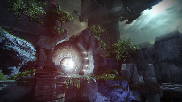 The entrance to Destiny's Vault of Glass - still, some would argue, its best raid