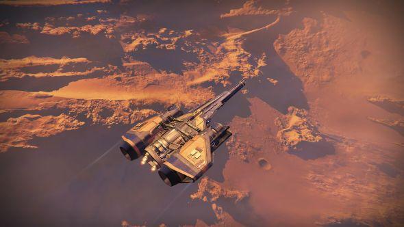 Destiny - Jumpship on Mars