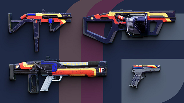 FWC faction weapons, November 2017