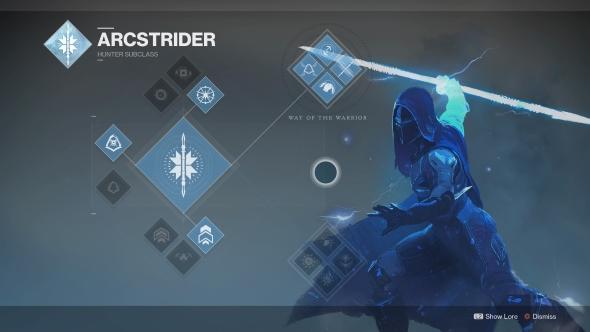 Destiny 2 Hunter Arcstrider
