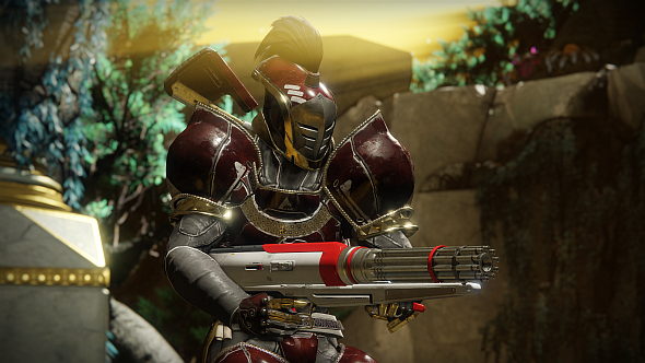A Titan in New Monarchy armour