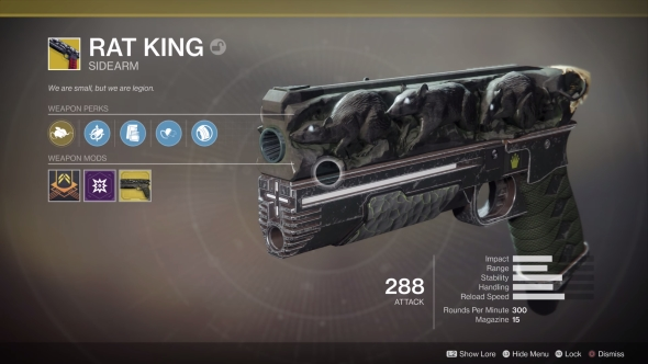 Destiny 2 exotic weapons quest guide – how to get Rat King