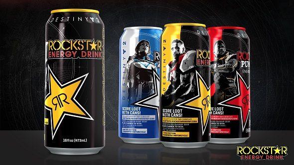 Destiny 2 Rockstar Energy Drink