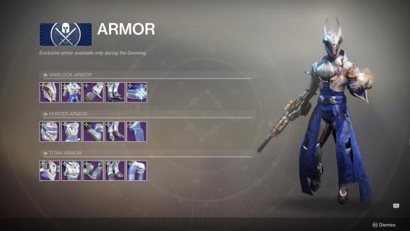 Destiny 2 The Dawning Warlock Armor