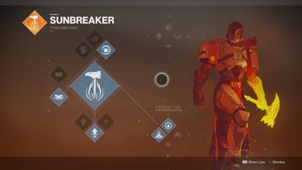 Destiny 2 Titan Sunbreaker
