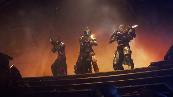 Ikora, Cayde, and Zavala - Destiny's Vanguard leaders