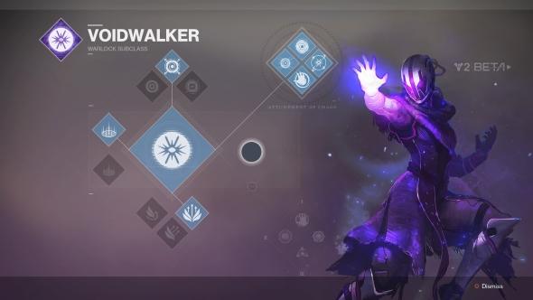 Destiny 2 Warlock Voidwalker