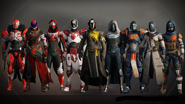 Destiny 2 Legendary Armour All The Gear From Beta And How It Works